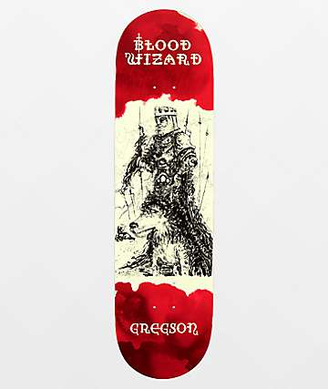 "Blood Wizard Gregson Occult Series 8.3"" Skateboard Deck"