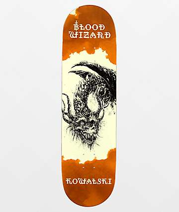 "Blood Wizard Kowalski Occult Series 8.5"" tabla de skate"