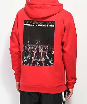 Bobby Tarantino by Logic Love It Up Red Hoodie