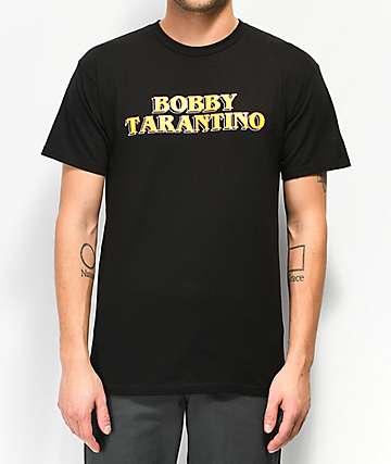 Bobby Tarantino by Logic Movie Title Black T-Shirt
