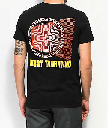 Bobby Tarantino by Logic Shout Black T-Shirt