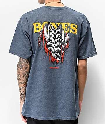 Bones Powell Peralta Shred Navy T-Shirt