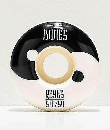 Bones Reyes Yin Yang STF V4 Wides 54mm 103a Skateboard Wheels