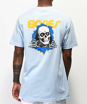 Bones Ripper camiseta azul claro