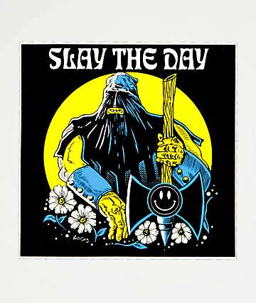 Boss Dog Slay The Day Sticker