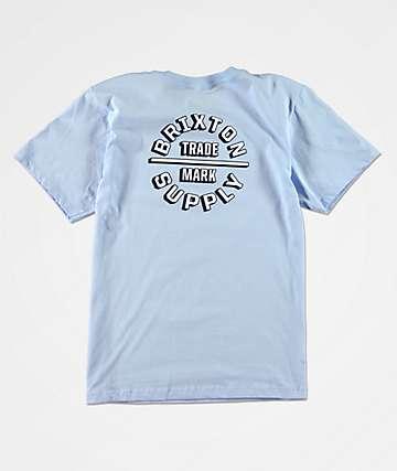Brixton Boys Oath II Light Blue T-Shirt