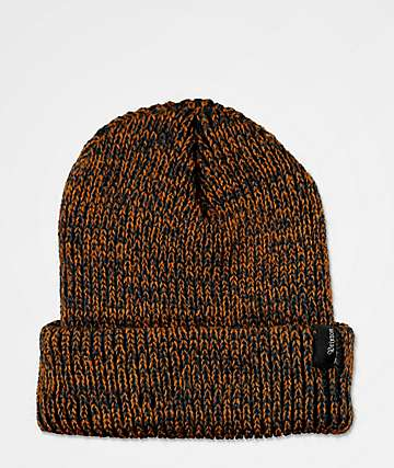 Brixton Filter Washed Navy & Copper Beanie
