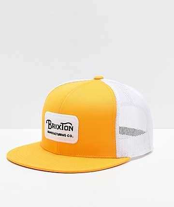 Brixton Grade Mesh Nugget Gold Trucker Hat