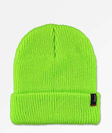 Brixton Heist Electric Green Beanie