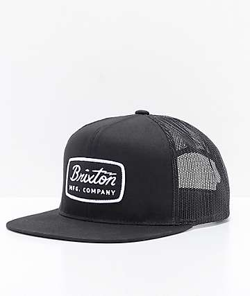 Brixton Jolt Black Trucker Hat