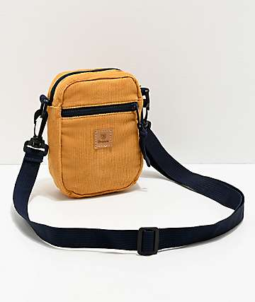 Brixton Main Label Yellow Fanny Pack