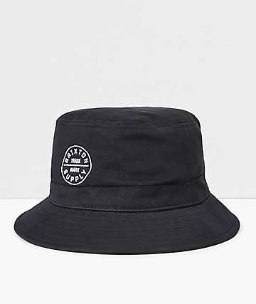 Brixton Oath Black Bucket Hat