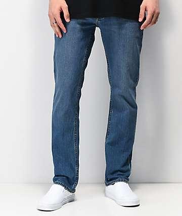 Brixton Reserve jeans de mezclilla con 5 bolsillos