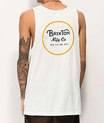 Brixton Wheeler Light Mint Tank Top