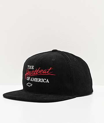 Brixton x Chevrolet Bel Air Black Snapback Hat