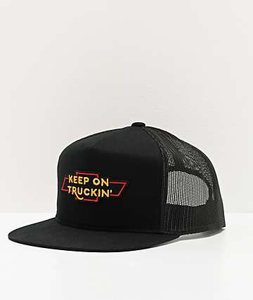 Brixton x Chevrolet Truckin'  Black Trucker Hat
