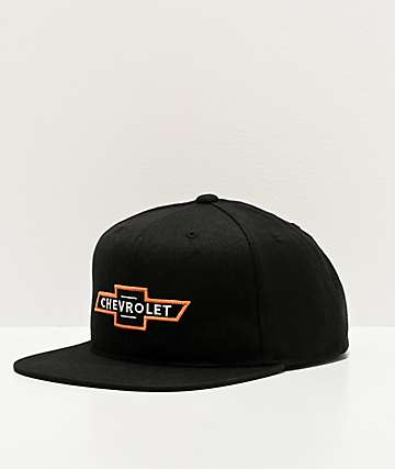 Brixton x Chevy Bowtie Bel Air Black Snapback Hat