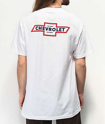 Brixton x Chevy Bowtie White T-Shirt