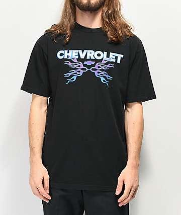 Brixton x Chevy Dirty Two Black T-Shirt