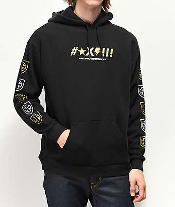 Brixton x Independent Shine Black Hoodie