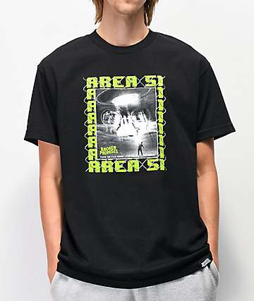 Broken Promises Area 51 Black T-Shirt