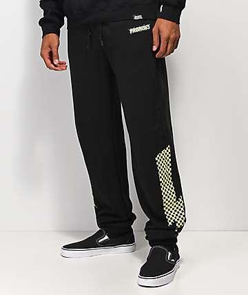 Broken Promises Bolted pantalones deportivos negros