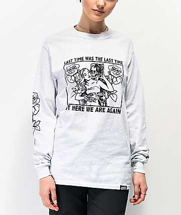 Broken Promises Enabler camiseta gris de manga larga