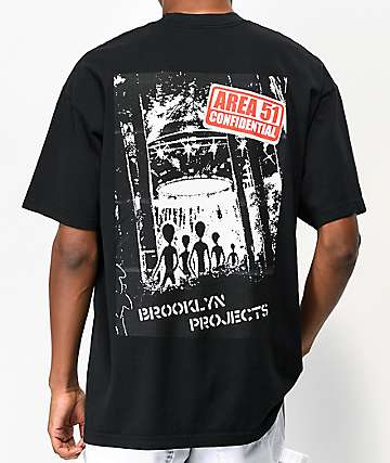 Brooklyn Projects Fifty One Black T-Shirt