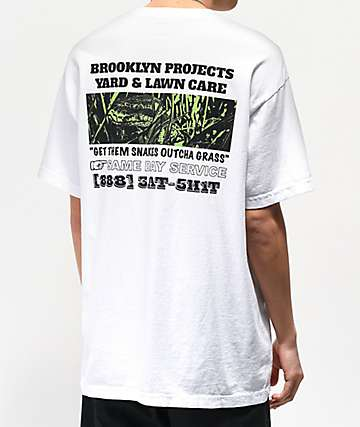 Brooklyn Projects Lawn White T-Shirt