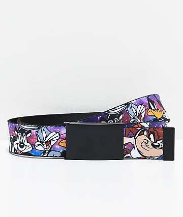 Buckle Down Toon Squad BBall Team Web Belt