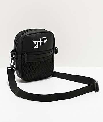 Bumbag x JHF Boo Johnson Compact bolso de hombro negro