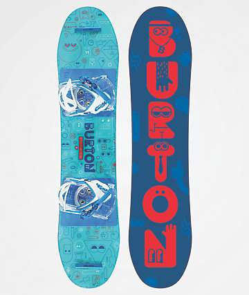 Burton After School Special Youth Snowboard Package 2019