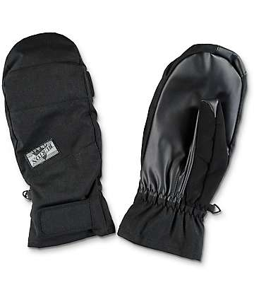 Burton Approach True Black Snowboard Under Mitt