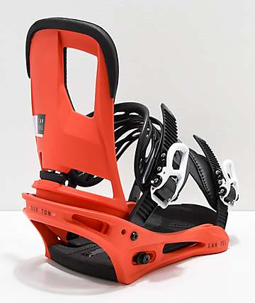 Burton Cartel Red Snowboard Bindings 2019