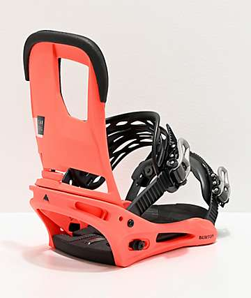 Burton Cartel Red Snowboard Bindings 2020