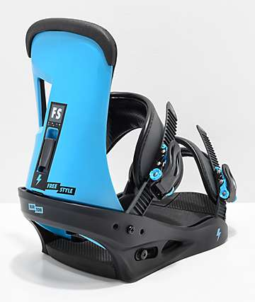 Burton Freestyle Cobalt Blue Snowboard Bindings 2019