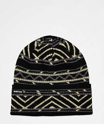 Burton Hutsworth True Black Beanie