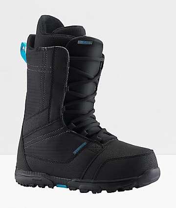 Burton Invader Black Snowboard Boots 2020