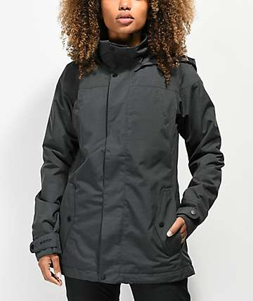 Burton Jet Set Black 10K Snowboard Jacket