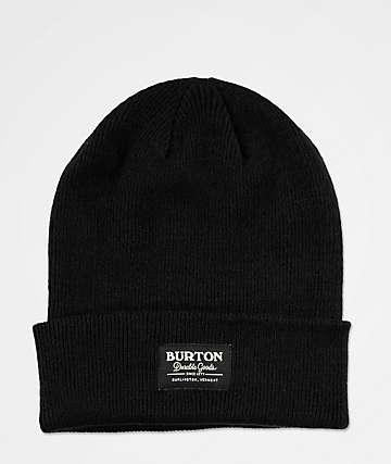 Burton Kactusbunch Tall Black Beanie