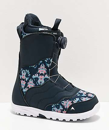 Burton Mint Boa Midnite Blue Snowboard Boots Women's 2020
