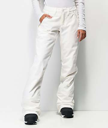 Burton Society Stout White 10K Snowboard Pants