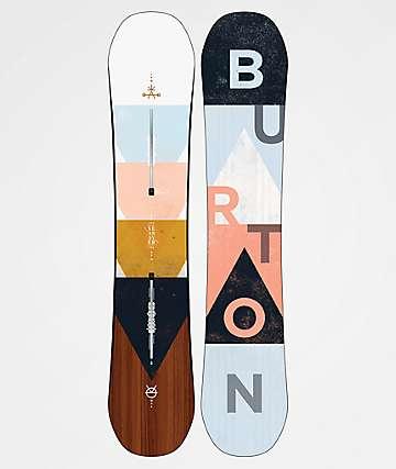Burton Yeasayer 2020 tabla de snowboard para mujeres