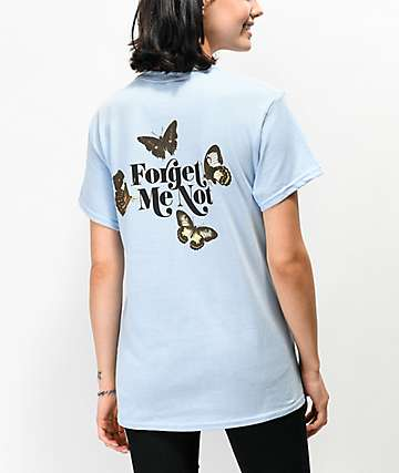 By Samii Ryan Forget Me Not Blue T-Shirt