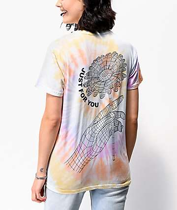 By Samii Ryan Just For You camiseta tie dye multicolor