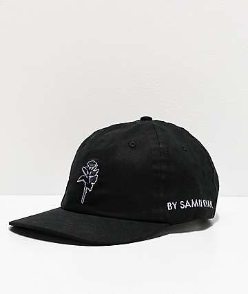 By Samii Ryan Kanji Lust Black Strapback Hat