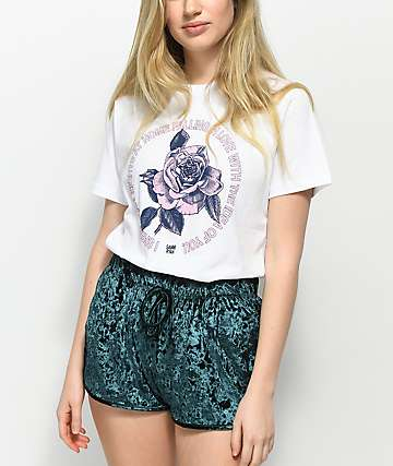 By Samii Ryan Love White T-Shirt