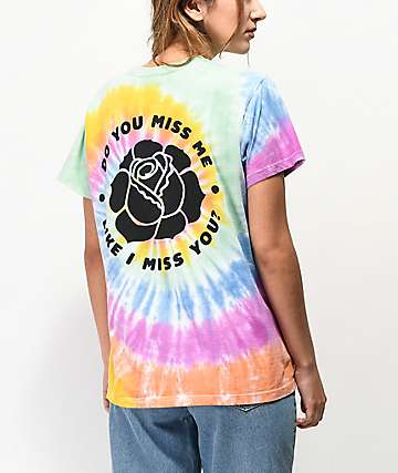 By Samii Ryan Miss Me Tie Dye T-Shirt