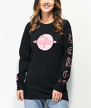 By Samii Ryan My World Black Long Sleeve T-Shirt