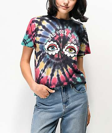 By Samii Ryan Open Your Mind Tie Dye T-Shirt